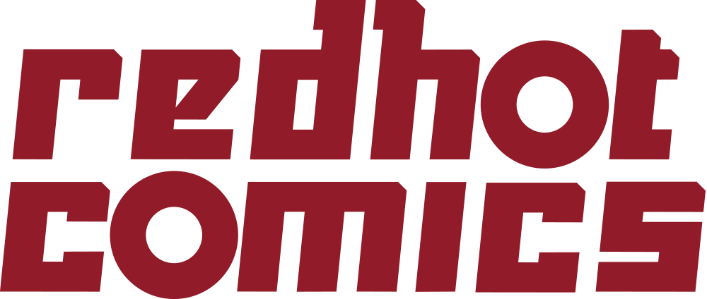 Red Hot Comics Logo